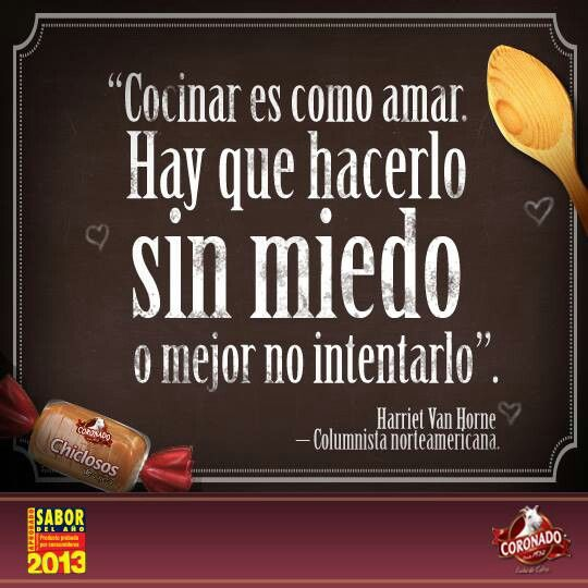 17 best images about frases sobre comida on pinterest tu for Ver y cocinar