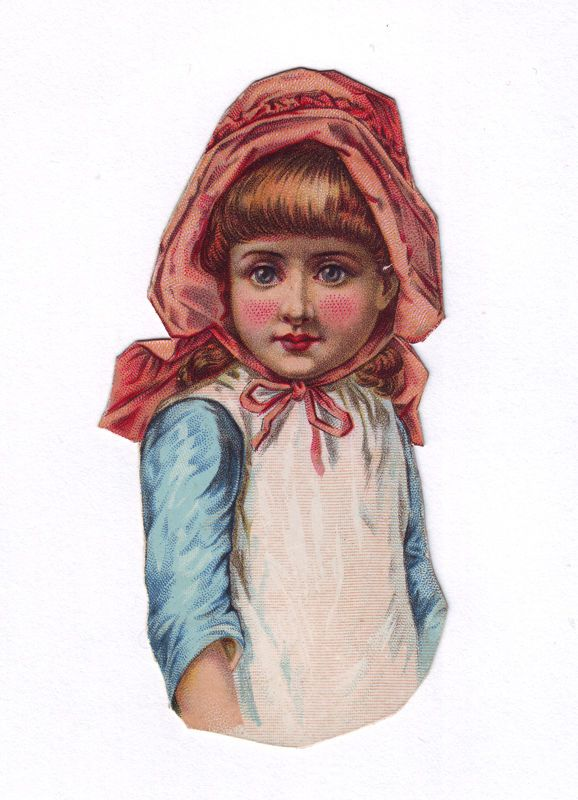 Victorian Child Scrap Authentic 1800s Paper Ephemera Antique Scrapbooking picclick.com