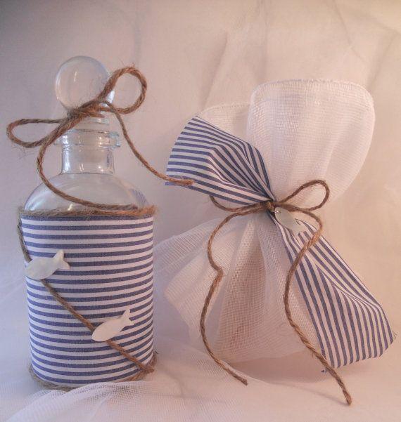 Greek baptismal oil bottle/soap set by KaramelaC on Etsy