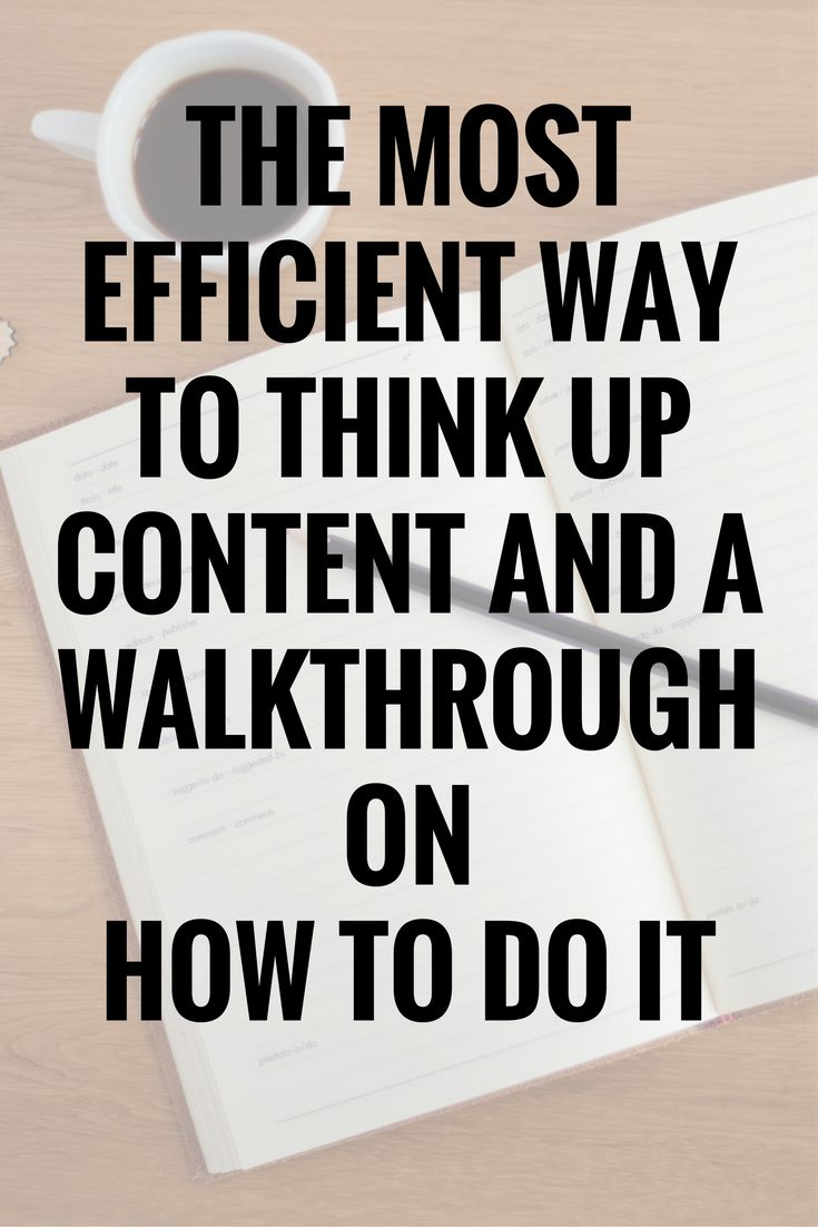 How to think of 25+ brand new post ideas in 15 minutes! http://www.allthingsbeautifulblog.co/2016/10/the-most-efficient-way-to-think-up.html