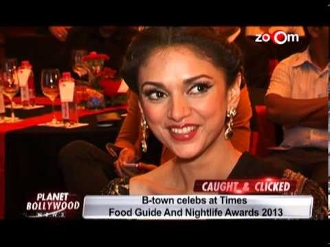 Bollywood celebs at Times Food Guide and Nightlife Awards 2013-Bollywood India
