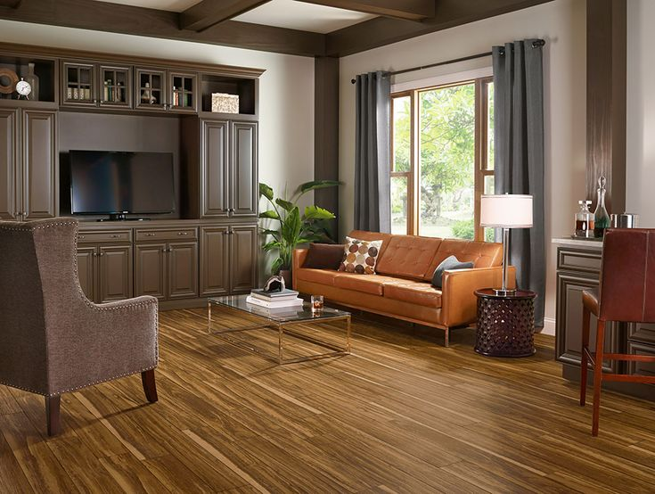 armstrong luxury vinyl plank lvp mid tone wood look flooring mid century modern - Wood Vinyl Flooring