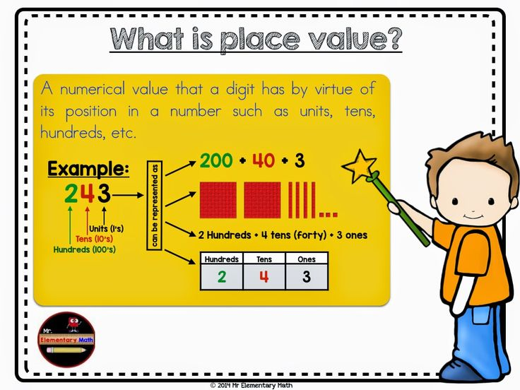 Best Place Value Images On   Teaching Math Classroom