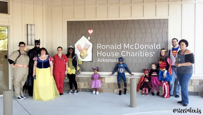 Sneak peek of the new Ronald McDonald House in Arkansas. #McDAmbassador #ad