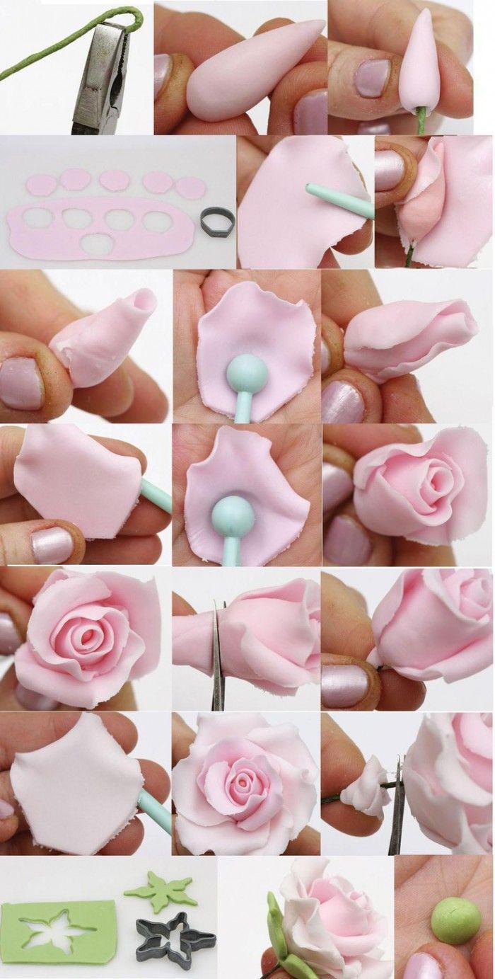 hoe mooie rozen van fondant te maken