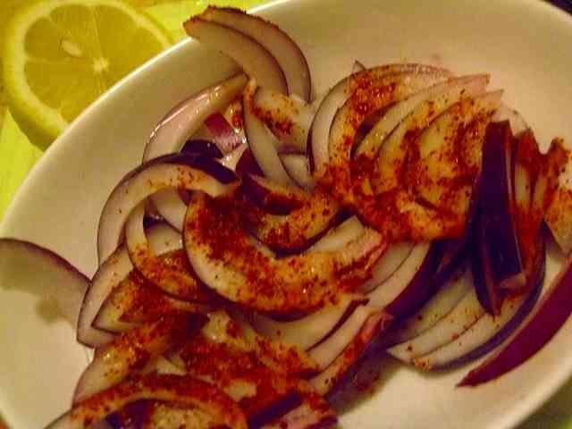 インド料理: タマネギのアチャールの画像