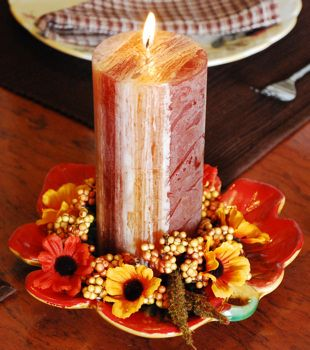 17 best images about autumn fall decorating ideas on for Thanksgiving centerpieces with candles