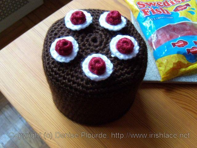 blackforestcake-toiletpaperrollcover-crochet by irishlacenet, via Flickr