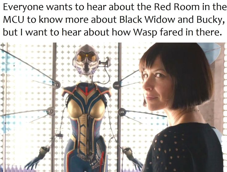 Marvel Antman & the Wasp - Red Room MCU Black Widow Bucky