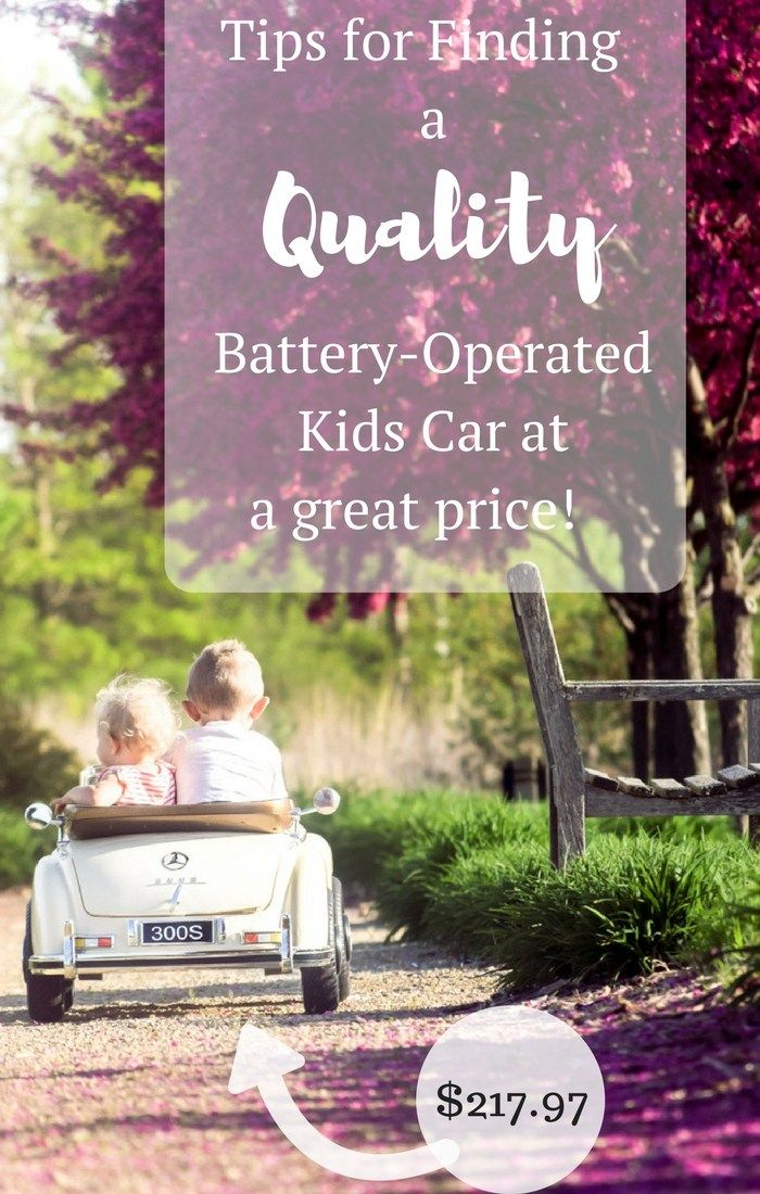 Tips for Finding a Battery-Operated Kids Car for a great price! Power wheel cars for kids and what to look for! Kids outdoor toys // power wheels // kids cars //