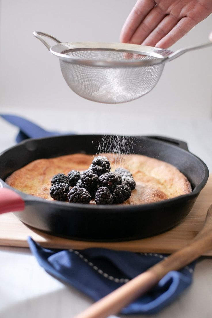 Low Carb Puff Pancake Dutch Baby | Recipe in 2020 (With ...
