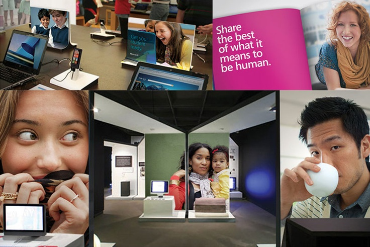Microsoft Brand Photography.  Authentic, optimistic and brave.
