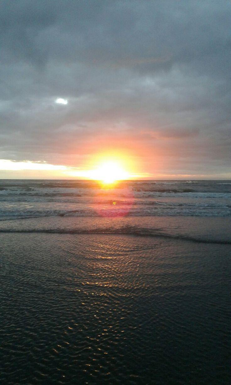 At Foxton Beach