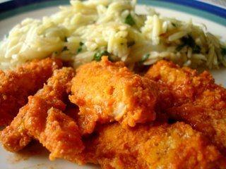 WW Buffalo Chicken Strip Recipe - 4 Points+ for 3 chicken stripsBuffalo Chicken Strips, Eggs White, Low Calories, Buffalo 66, Weights Watchers Recipe, Food Recipe, Chicken Strips Recipe, Chicken Breast, Hot Sauces