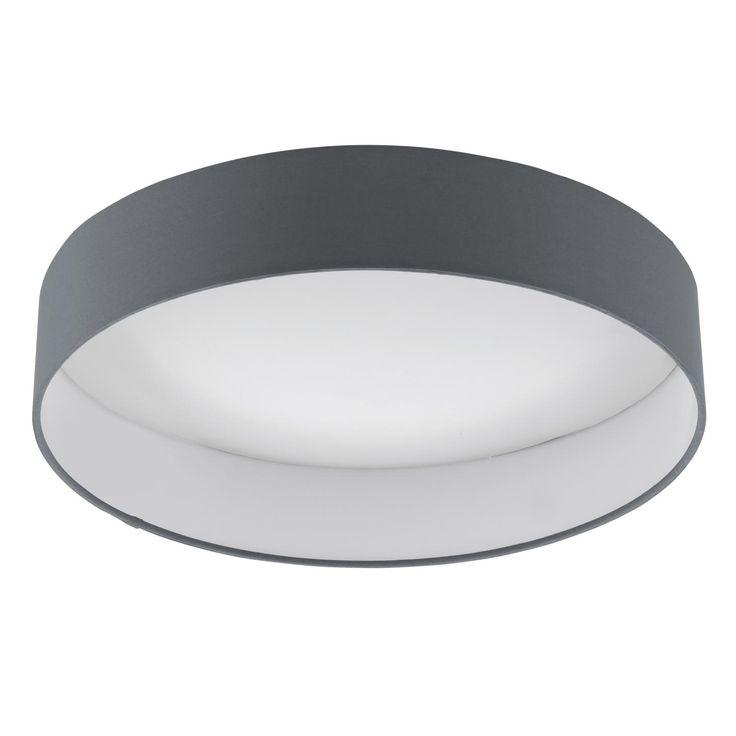 EGLO PALOMARO TAKLAMPE, Ø40 18W LED ANTRASITT/