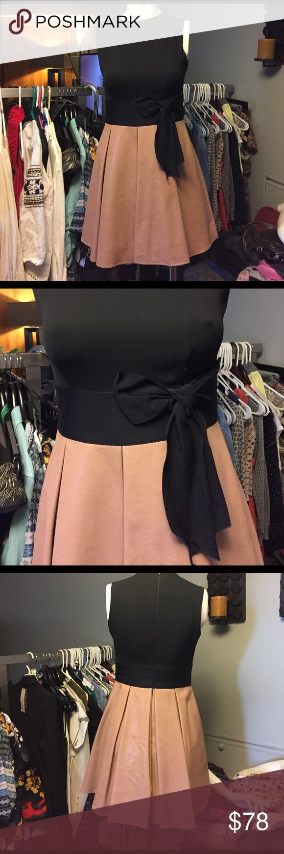 Eva Franco faux leather dress size 2pre-owned Eva Franco faux leather dress size 2pre-owned Eva Franco Dresses Mini