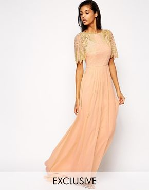 Enlarge Virgos Lounge Lena Maxi Dress With Embellishment
