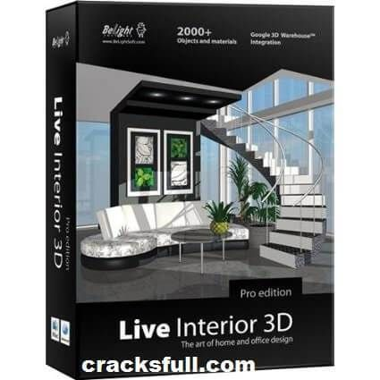 Live Interior 3D Pro Crack Plus Windows 7 Free Download