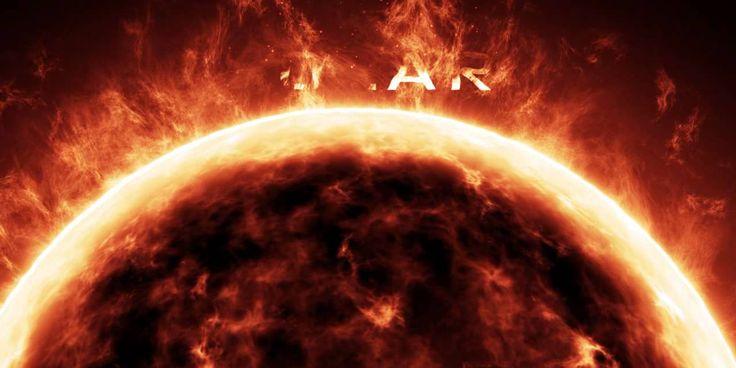 Látványos 3D logó animáció: Solar