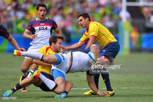 31st Rio 2016 Olympics / Rugby Sevens : USA - ESP Men's... #tudela: 31st Rio 2016 Olympics / Rugby Sevens : USA - ESP Men's… #tudela