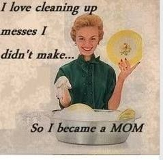 Cleaning Up Messes