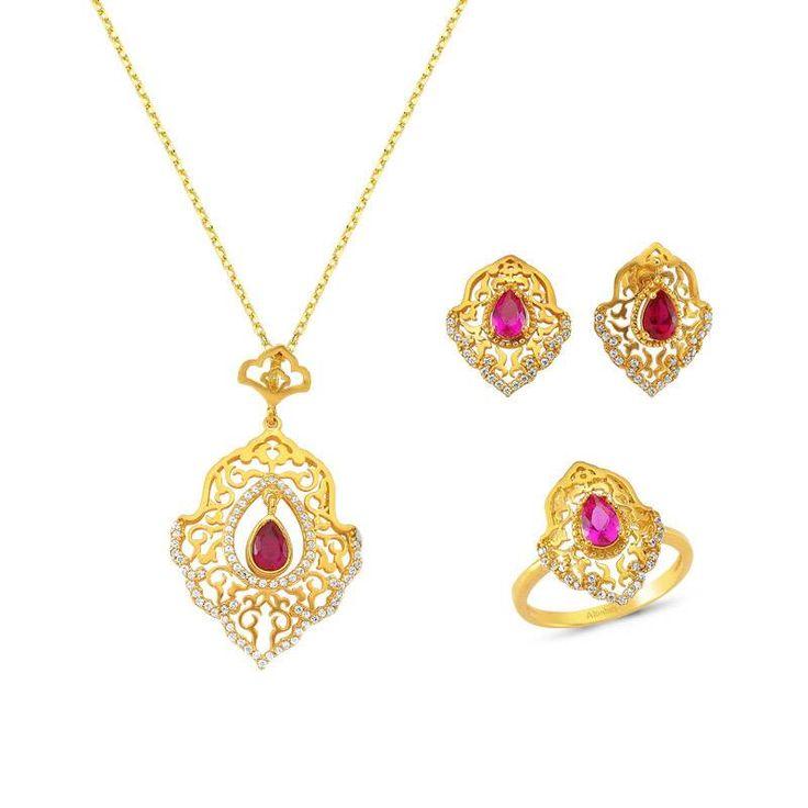 Altınbaş Efsane - 22 Ayar Altın Set  #22ayar #altın #tasarım #efsane #motif #tarihi #osmanlı #takıları