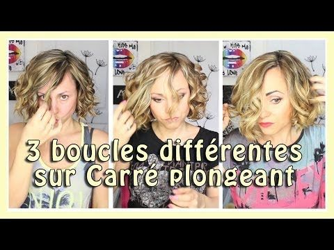 17 best images about tuto coiffures on pinterest coiffure facile lauren conrad and nicole richie - Coiffure carre boucle ...
