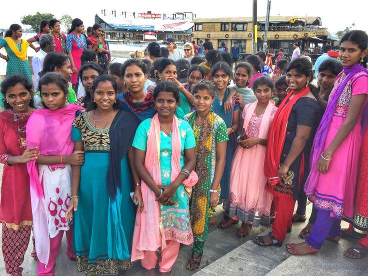 Kerala nurses on a field trip  www.finisterra.ca #kerala #india