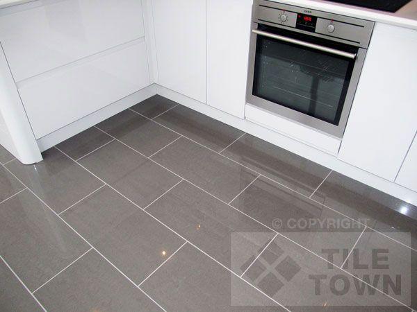 Rooms With Gray Tile Floors Lounge Dark Grey Porcelain Floor Tile In 2020 Grey Floor Tiles Kitchen Flooring Grey Flooring