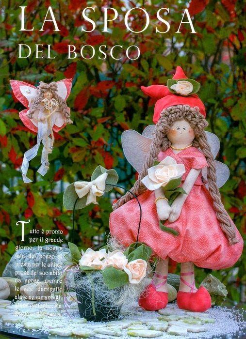 fatine, bamboline con cartamodelli (in italiano)