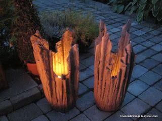 Concrete - create a magic torch