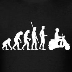 Black-evolution-vespa-T-Shirts.jpg (235×235)