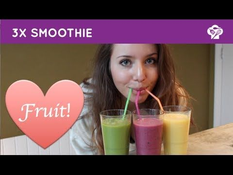Smoothies - Foodgloss - YouTube
