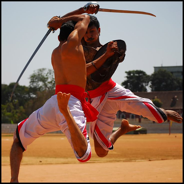 Kalaripayattu- Ancient Indian martial art style, originating in ~ 11th century AD.