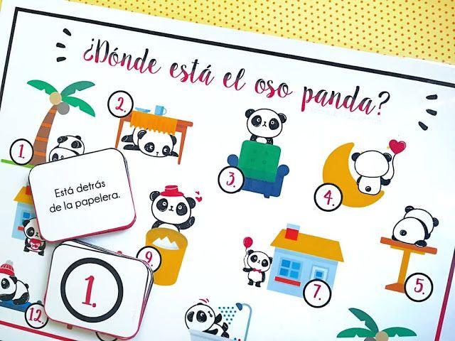 Olé Kreatywna Edukacja: GDZIE JEST PANDA?/¿DÓNDE ESTÁ EL OSO PANDA?