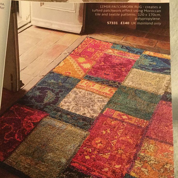 Moroccan Rug Izmir Patchwork Culturevulturedirect Co Uk 140 Neigh Colours Bedroom Tile