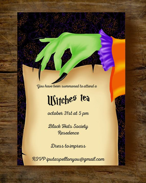 The  Best Adult Halloween Invitations Ideas On