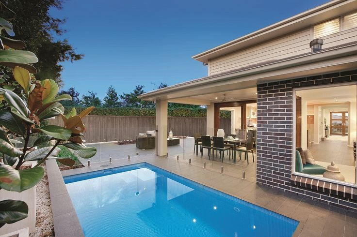 This pooldesign from the cremorne 37 designed by eden for Eden brae home designs