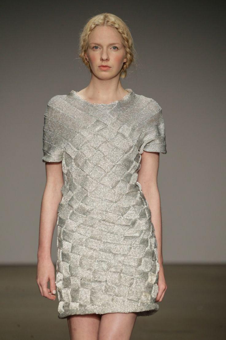 Knitwear, Silver, Dorhout Mees SS14 'La Belle Époque' Amsterdam Fashion Week. (Photo| Peter Stigter)