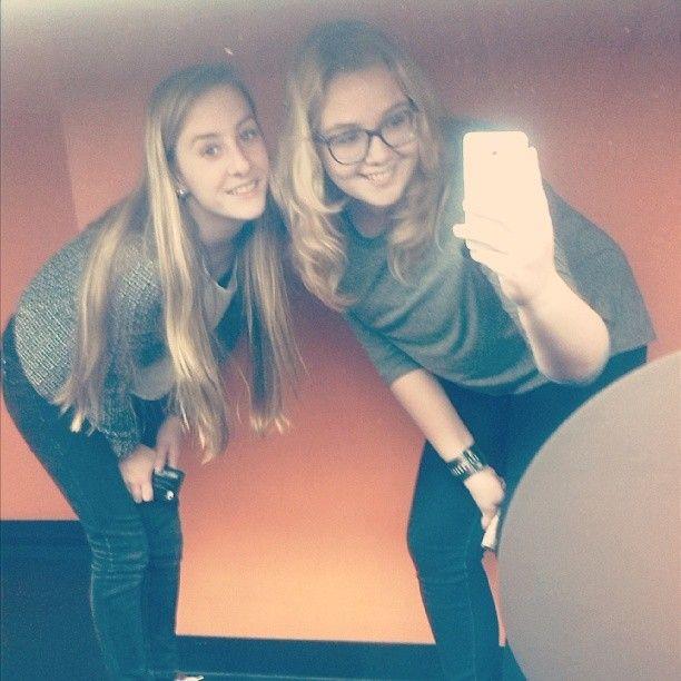 Met lief vriendinnetje @liekewalvoortx <3 #fredendouwe #weekend #friend