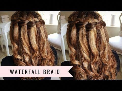 20 Waterfall Braid Tutorials Adding Beautiful Twists and Turns to Your Hair! #braidshairstyles