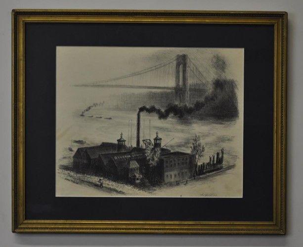 Raymond Skolfield (1909-1996) Signed Lithograph