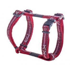 ROGZ Fancy Dress sele - Red Heart