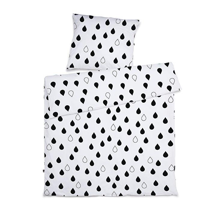 CarlijnQ - Junior duvet covers - Drops - 120 x 150 cm