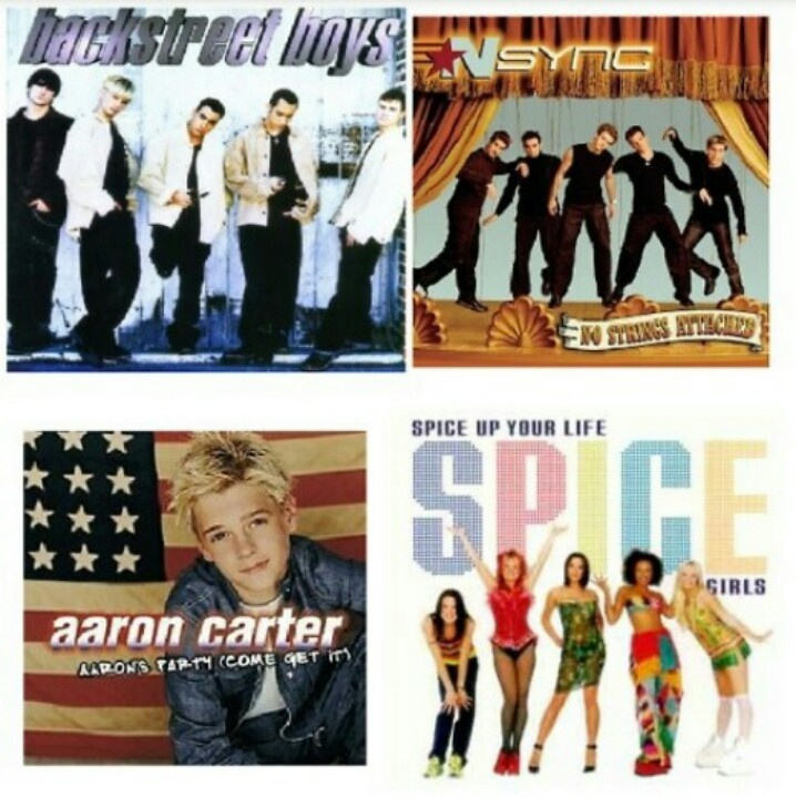 Music from the 90's!! NSync and Spice Girls were my fav!!
