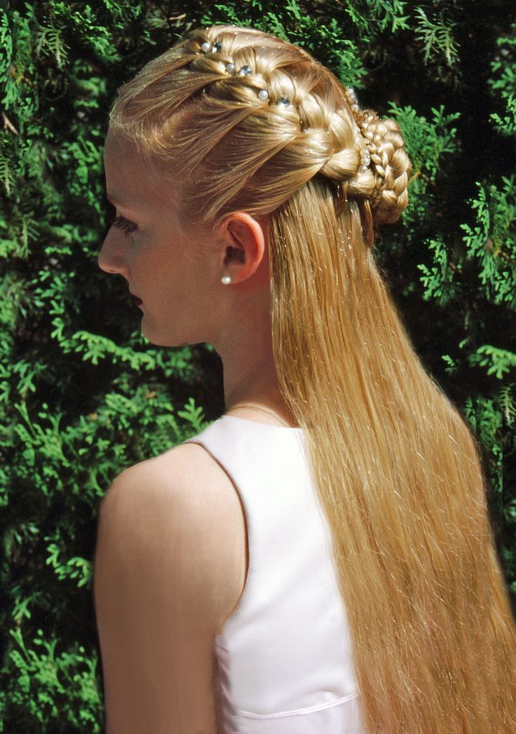 300 Best Braids Renaissance Hair Images On Pinterest