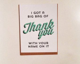 Unique Thank You Cards best 25+ funny thank you cards ideas on pinterest | boyfriend card