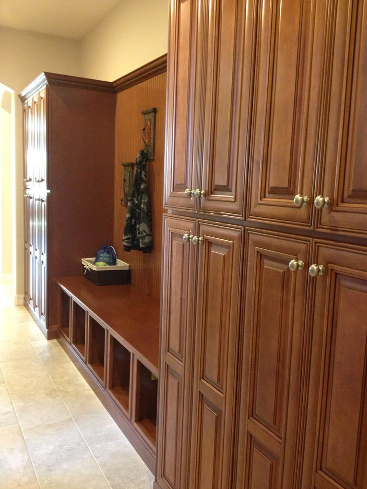 Mudroom Cabinets In Hall Dwell Laundry Room