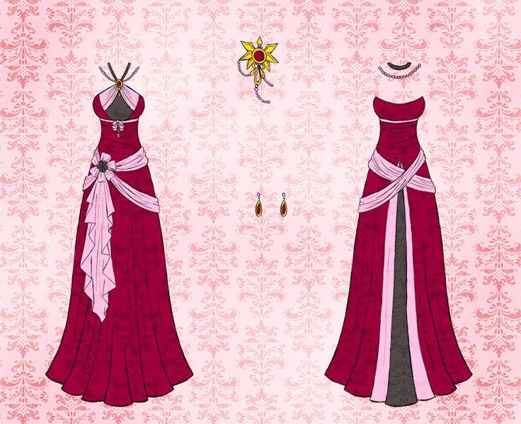 Minwa dress design by Eranthe.deviantart.com on @DeviantArt