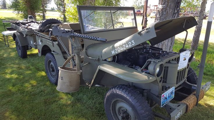 1943 Willys MB with 1919A4